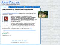 John Percival Web site